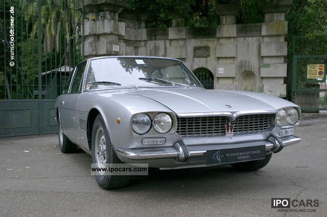 Maserati  Mexico PM 112/1 4.7 liter 1972 Vintage, Classic and Old Cars photo