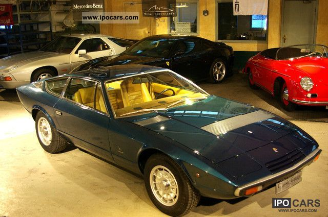 Maserati  KHAMSIN 04.09 1974 Vintage, Classic and Old Cars photo