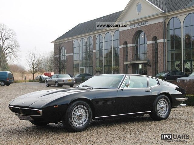 Maserati  Ghibli 4.7 1966 Vintage, Classic and Old Cars photo