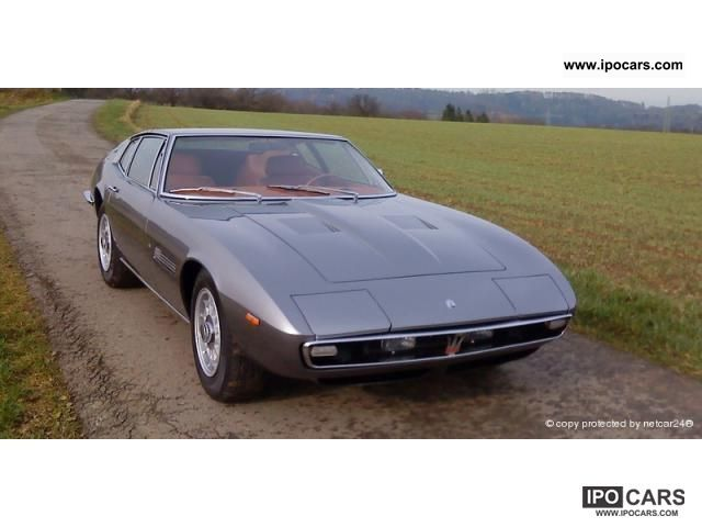 Maserati  Ghibli after complete restoration 1971 Vintage, Classic and Old Cars photo