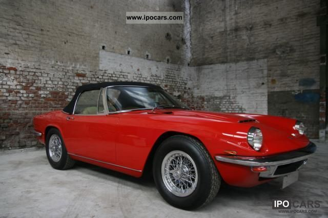 Maserati  Mistral Convertible .. like new! 1968 Vintage, Classic and Old Cars photo