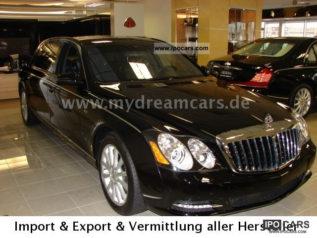 2011 Maybach 62 S 2011 T1 Brhv 499 900 Usd Car Photo And Specs