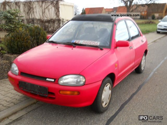 1992 Mazda  121 16V GLX Canvas Top Small Car Used vehicle photo