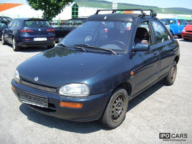 1996 Mazda  121 16V GLX Canvas Top Small Car Used vehicle photo