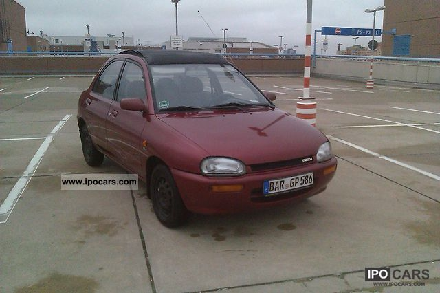 1993 Mazda  121 16V GLX Canvas Top Small Car Used vehicle photo
