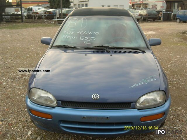 1995 Mazda  121 1.4 16V GLX Canvas Top Small Car Used vehicle photo