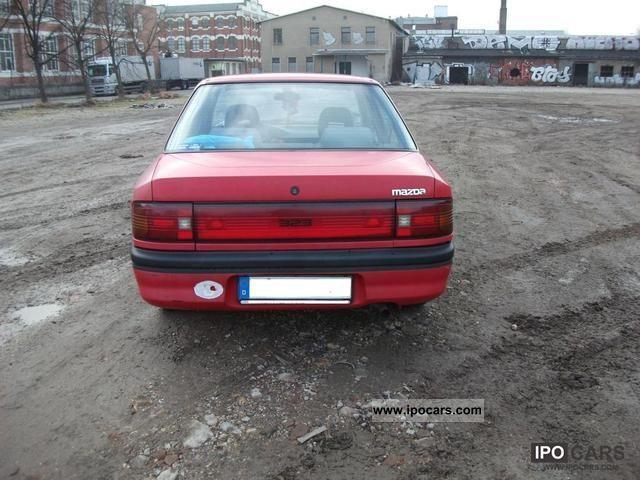 1991 mazda 323 1.6i 16v glx - car photo and specs