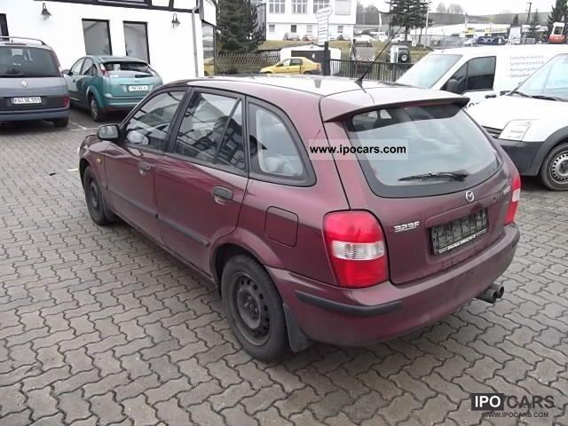 1999 Mazda 323 F 1 5 Climate