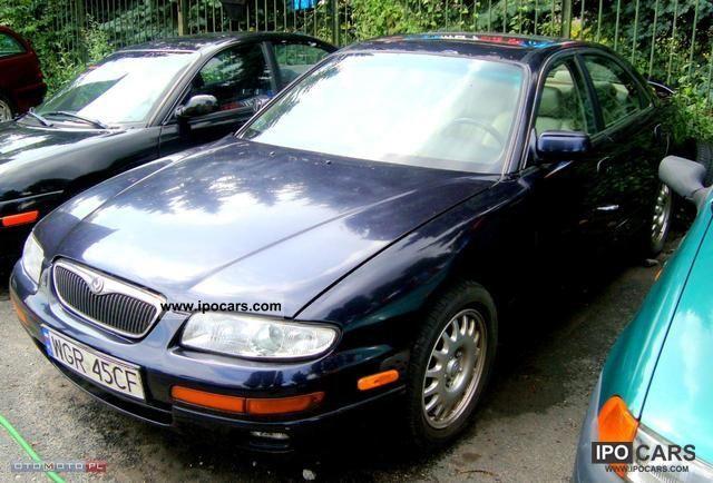 1995 mazda millenia std pe na opcja car photo and specs for Mercedes benz millenia