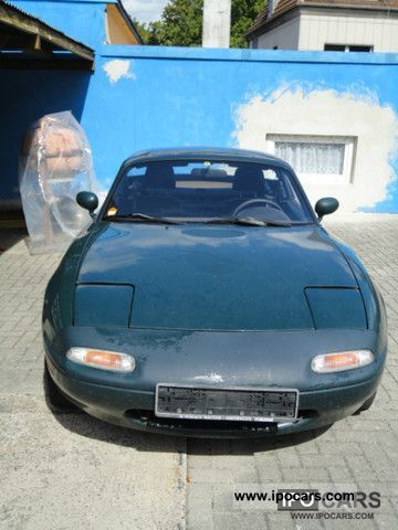 1996 Mazda  MX-5 soft top hardtop + € 2 Cabrio / roadster Used vehicle photo