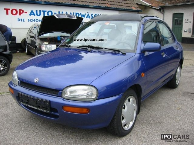 1995 Mazda  121 1.3i 16V Ginza, leather, soft top Small Car Used vehicle photo