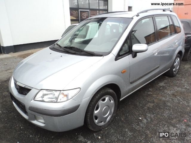 2001 Mazda  Premacy 1.9 Comfort-Climate 2.Hand D3Norm leather Van / Minibus Used vehicle photo