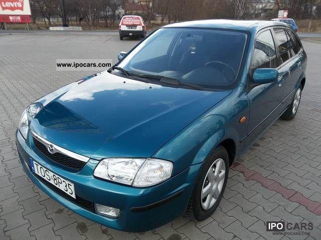 1999 Mazda  323 śliczna mazda 122 tys servis zobacz Small Car Used vehicle photo
