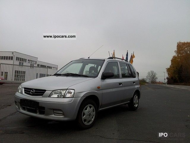 2001 Mazda  `` Demio 4.1 1-HAND CARE `` `` Van / Minibus Used vehicle photo