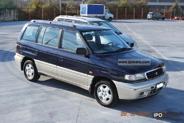 1996 mazda 2 5 turbo diesel mpv 12v glx car photo and specs. Black Bedroom Furniture Sets. Home Design Ideas