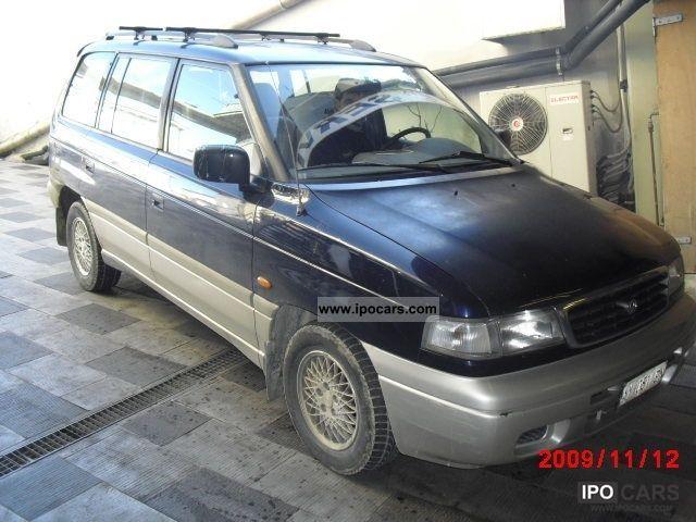1998 mazda 2 5 turbo diesel mpv lx 12v car photo and specs. Black Bedroom Furniture Sets. Home Design Ideas