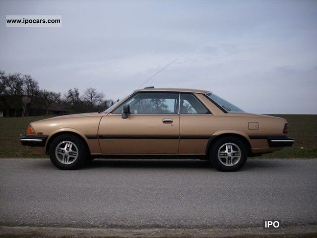 1982 Mazda 626 Coupe 2 0 Sdx Car Photo And Specs