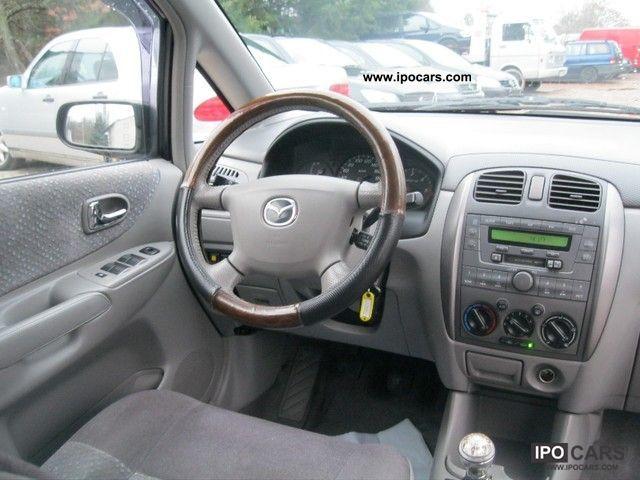 2001 Mazda Premacy td Van