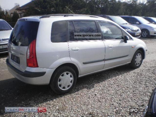 2000 mazda premacy 2 0 tdi no 29 car photo and specs. Black Bedroom Furniture Sets. Home Design Ideas