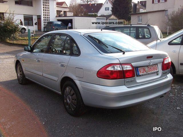 2002 mazda 626 2.0 td exclusive klimatronic euro3 webasto - car