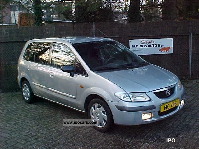 2000 mazda premacy 2 0 ditd tour airco car photo and specs. Black Bedroom Furniture Sets. Home Design Ideas