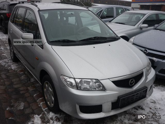 2003 mazda premacy td climate euo3 1 hand car photo and specs. Black Bedroom Furniture Sets. Home Design Ideas
