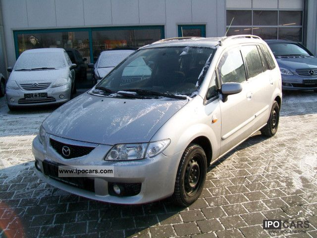 2003 mazda premacy td exclusive car photo and specs. Black Bedroom Furniture Sets. Home Design Ideas