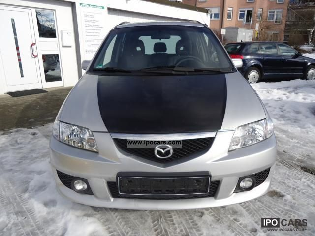2003 mazda premacy 2 0 td active climate control 3 ahk car photo and specs. Black Bedroom Furniture Sets. Home Design Ideas
