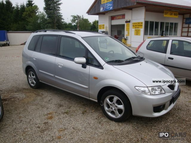 2002 Mazda Active Premacy Car Photo And Specs