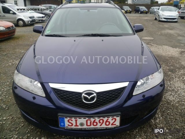 Mazda  6 Sport Kombi 2.3 LPG GAS, Xenon, Leather * Aluminum 2003 Liquefied Petroleum Gas Cars (LPG, GPL, propane) photo