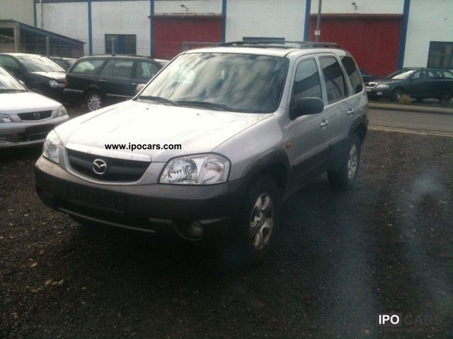 Mazda  Tribute, V6, 4 * 4 GAS PLANT 2004 Liquefied Petroleum Gas Cars (LPG, GPL, propane) photo