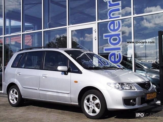 2003 mazda premacy 2 0 ditd exclusive export car photo and specs. Black Bedroom Furniture Sets. Home Design Ideas