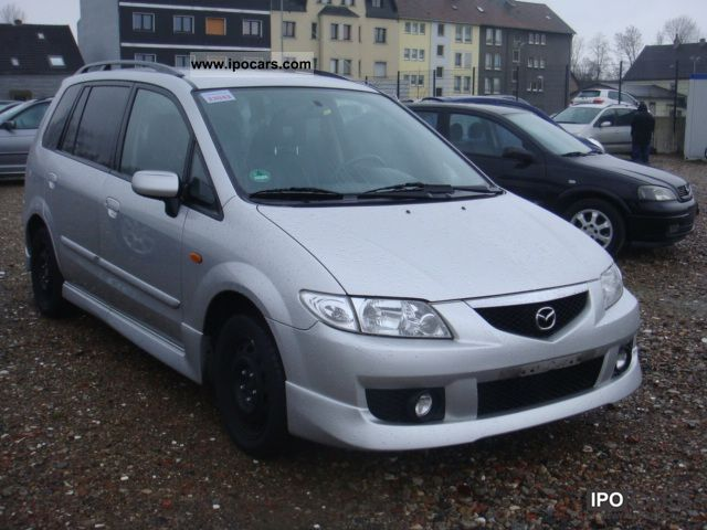 2003 mazda premacy 2 0 out 1 hand car photo and specs. Black Bedroom Furniture Sets. Home Design Ideas