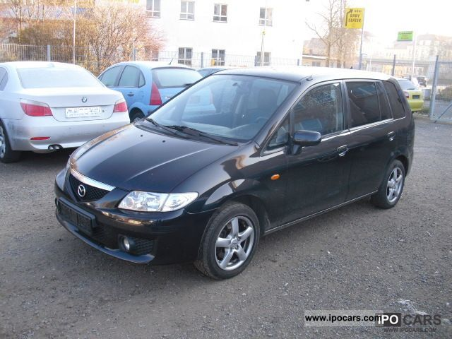 2003 mazda 6 seater premacy td climate control aluminium checkbook car photo and specs. Black Bedroom Furniture Sets. Home Design Ideas
