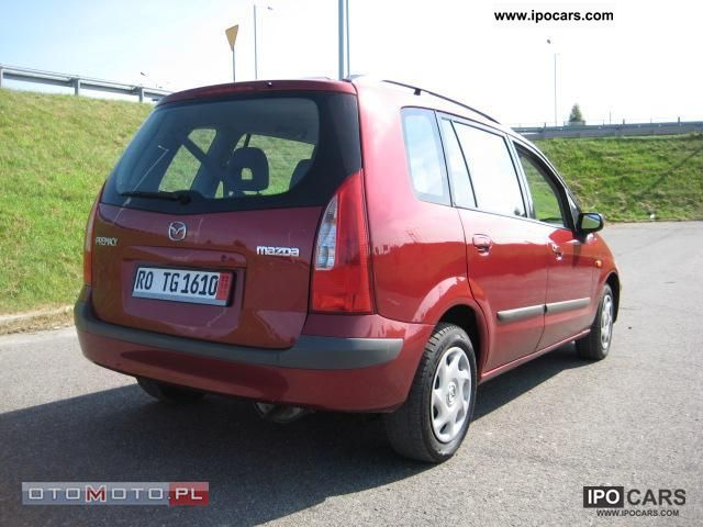 2001 Mazda  1.8 16 v AIR PO OPŁATACH Van / Minibus Pre-Registration 			(business photo