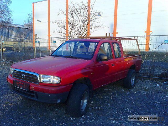 2001 Mazda  B2500TD/4x4, \ Off-road Vehicle/Pickup Truck Used vehicle photo