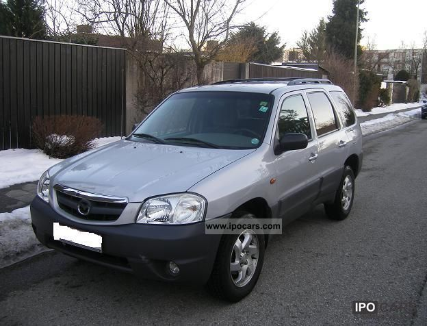 2002 mazda tribute 4x4 comfort car photo and specs. Black Bedroom Furniture Sets. Home Design Ideas
