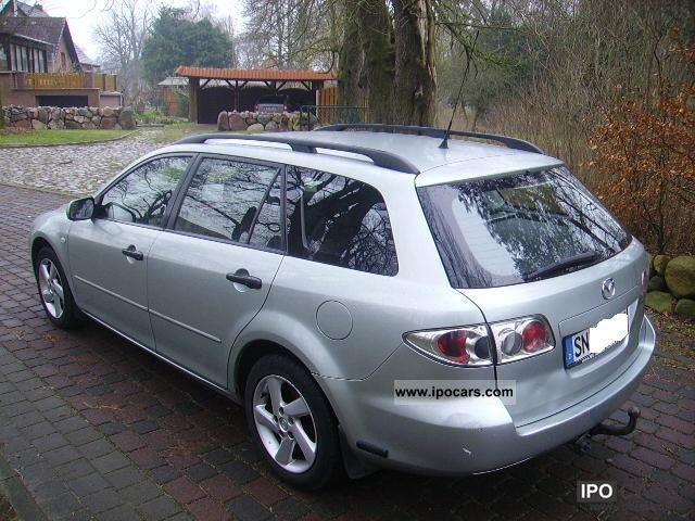 2004 mazda 6 sport kombi 2 0 cd comfort car photo and specs. Black Bedroom Furniture Sets. Home Design Ideas