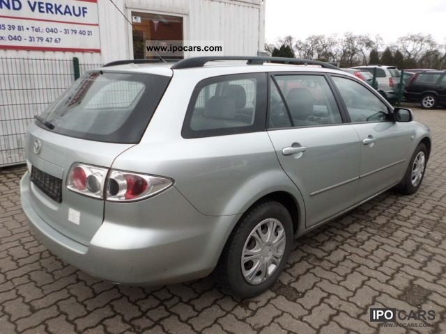 2003 mazda 6 sport kombi 2 0 comfort klimaauto euro4 car photo and specs. Black Bedroom Furniture Sets. Home Design Ideas