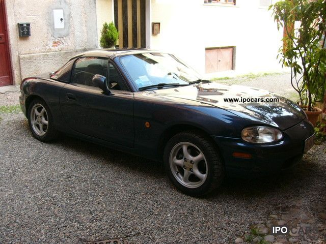 1998 mazda mx 5 car photo and specs. Black Bedroom Furniture Sets. Home Design Ideas