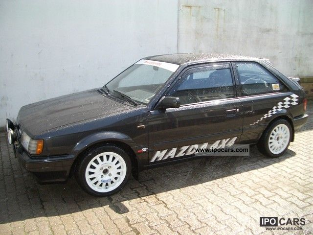 1989 Mazda  1.6i 4WD Turbo 323 GTX Limousine Used vehicle photo