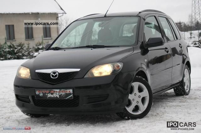 2004 mazda 2 1 4 diesel 99ty km wzorowy car photo and specs. Black Bedroom Furniture Sets. Home Design Ideas