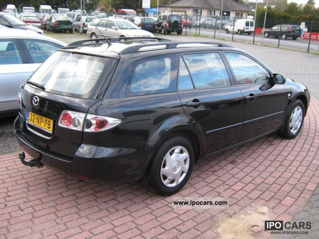 2004 mazda 6 sport break car photo and specs. Black Bedroom Furniture Sets. Home Design Ideas