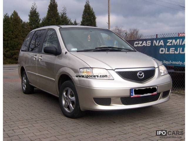 Mazda  MPV GAZ SEKWENCYJNY 2002 Liquefied Petroleum Gas Cars (LPG, GPL, propane) photo