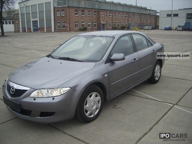 2004 mazda 6 2 0 comfort car photo and specs. Black Bedroom Furniture Sets. Home Design Ideas