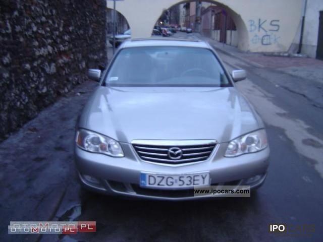 2002 mazda millenia car photo and specs for Mercedes benz millenia