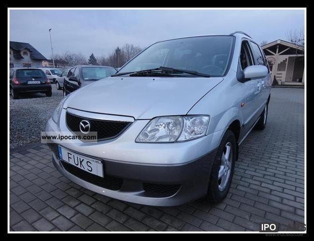 2003 Mazda  * MPV * ZAREJESTROWANA ZADBANA * Van / Minibus Used vehicle photo