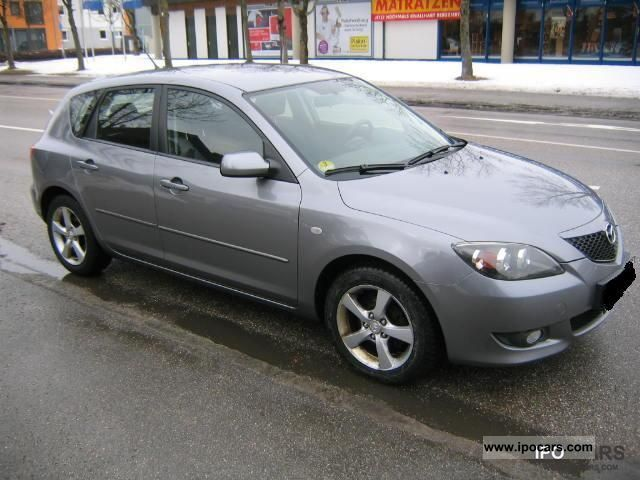 2005 mazda 3 1.6 cd sport - car photo and specs