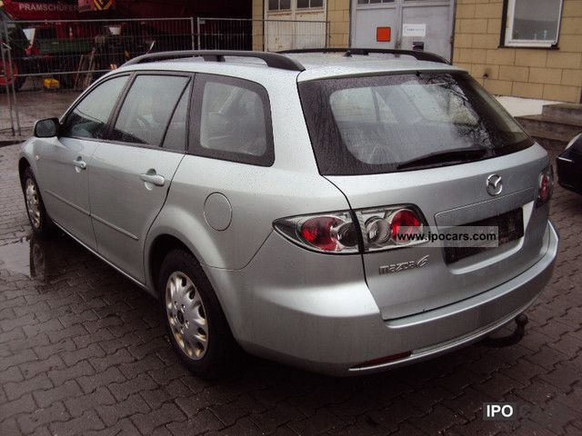 2006 mazda 6 sport kombi 2 0 cd car photo and specs. Black Bedroom Furniture Sets. Home Design Ideas