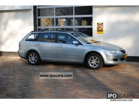 2003 mazda 6 sport touring break 1 8 car photo and specs. Black Bedroom Furniture Sets. Home Design Ideas